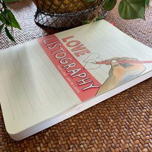 Love Listography Journal 🆕
